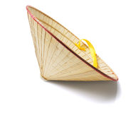 Oriental Straw Hat Royalty Free Stock Photography
