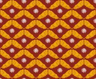 oriental styl deseniowy bezszwowy Obrazy Royalty Free