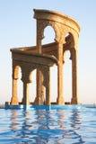 Oriental style architecture in Sochi, Russia Stock Image