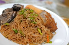 Oriental Style Bee Hoon Dish Stock Photo