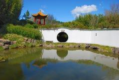 Oriental style garden Royalty Free Stock Photo
