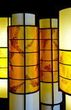 Oriental style lamps Stock Photos