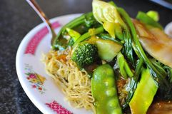 Oriental style noodle cuisine Stock Photography