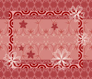 Oriental Style Seamless Background Royalty Free Stock Photo
