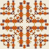 Oriental style seamless pattern vector eighteen. Series of patterns designed using the old Ottoman motifs Royalty Free Stock Photography