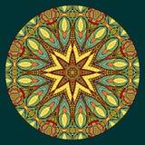 Oriental Style Symmetric Pattern Stock Images
