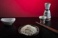 Oriental style table Royalty Free Stock Photo