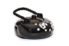 Oriental style teapot Stock Image