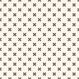 Oriental style texture with small geometrical floral shapes, stars. Design for decor, web. Vector geometric ornament. Elegant seamless pattern with small stock illustration