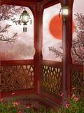 Oriental sunrise Royalty Free Stock Image