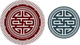 Oriental Swastika Composition. Oriental Swastika Knot Composition Including Vector Format vector illustration