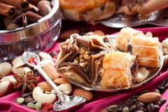 Oriental sweets Stock Photo