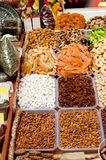 Oriental sweets on market. Royalty Free Stock Photography