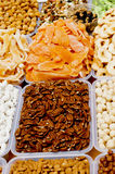 Oriental sweets on market. Stock Image