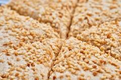 Oriental sweets. Turkish or greek delight. Halva Stock Photography