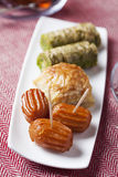 Oriental sweets Stock Images