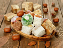 Oriental sweets Royalty Free Stock Images
