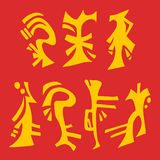 Oriental symbols Royalty Free Stock Photography