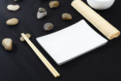 Oriental Table Set-Up Royalty Free Stock Images
