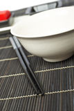 Oriental table setting Royalty Free Stock Image