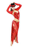 Oriental Tango dancer Stock Photography