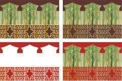 oriental tapeta Zdjęcie Royalty Free
