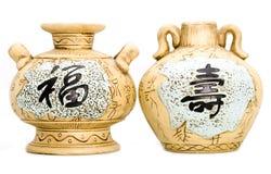 Oriental Tea Kettles Royalty Free Stock Image