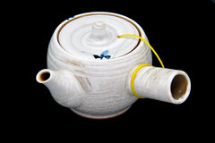 Oriental tea pot on isolation Royalty Free Stock Image