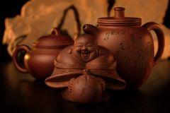Oriental Tea-set 1. Royalty Free Stock Photos