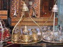 Oriental tea set Stock Photography