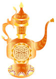 Oriental teapot Stock Photography