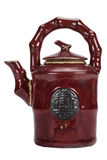 Oriental Teapot - Isolated Royalty Free Stock Photography