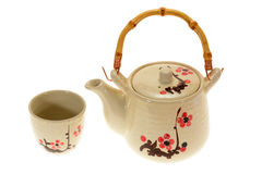 Oriental Teapot set Stock Photography