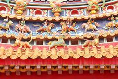 Oriental temple decoration Stock Photography