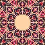 Oriental, tender frame. vector illustration