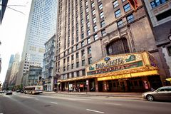 Oriental Theatre in Chicago Royalty Free Stock Photo