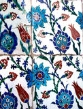 Oriental tiles Royalty Free Stock Photography