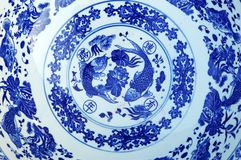 Oriental tiles plate Stock Photo