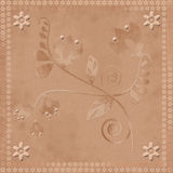 Oriental traditional floral ornament seamless pattern Stock Images