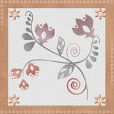 Oriental traditional floral ornament seamless pattern, tile desi Royalty Free Stock Photo