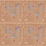 Oriental traditional floral ornament seamless pattern Stock Photos