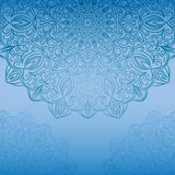 Oriental traditional ornament,  illustration Royalty Free Stock Photos