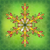 Oriental traditional ornament,  illustration Royalty Free Stock Images