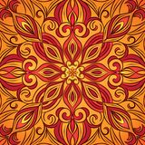 Oriental traditional ornament,  illustration Royalty Free Stock Photography