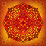 Oriental traditional ornament,  illustration Royalty Free Stock Photo