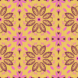 Oriental traditional ornament. Seamless pattern. Royalty Free Stock Photography