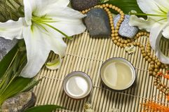 Oriental traditional tea ceremony still life. Royalty Free Stock Images