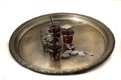 Oriental tray Stock Photography