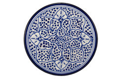 Oriental Tunisian Plate Stock Images