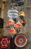 Oriental Turkish lamps Stock Images